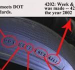 Đánh giá xe ô tô cũ qua hệ thống lốp, độ mòn của lốp