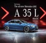 Mercedes-AMG A 35 L 4MATIC tiện nghi hơn, bởi thiết kế dài ( rộng) hơn đáng kể.