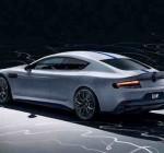 Sedan coupe điện Aston Martin RapidE chiếc xe bảo vệ môi trường