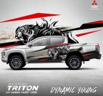 Trọn bộ Tem xe bán tải Mitsubishi Triton