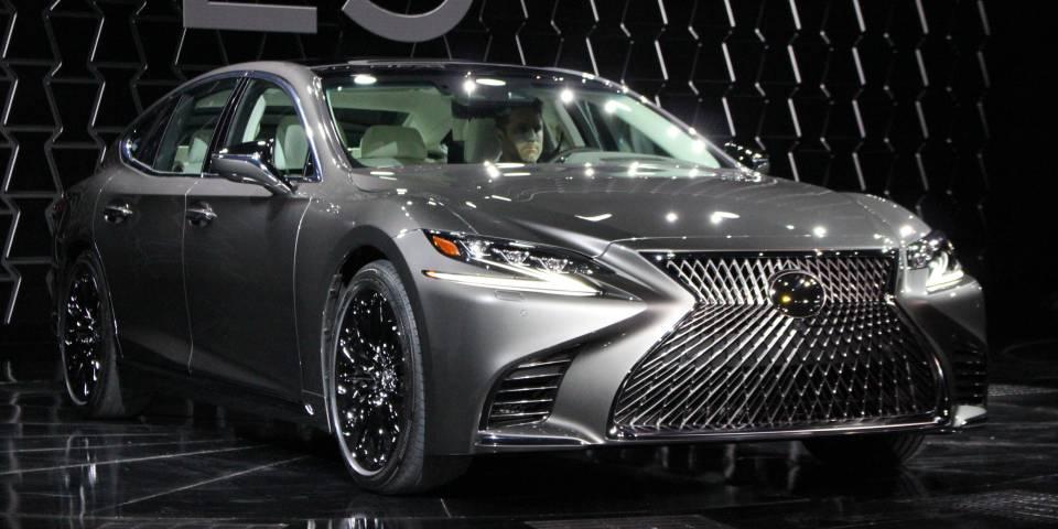 Hình ảnh xe Lexus LS500