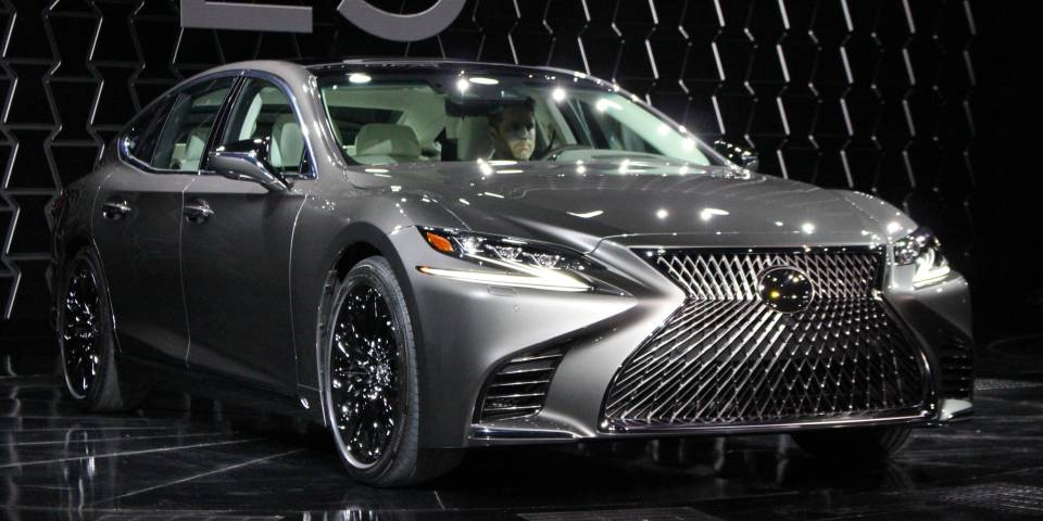Lexus LS 500 4