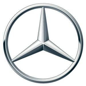 Logo thương hiệu xe ô tô Mercedes Benz