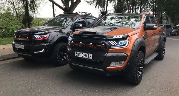 Hình ảnh đẹp Ford Ranger