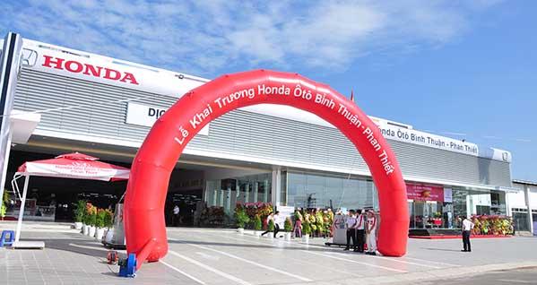 Honda Ôtô Bình Thuận - Phan Thiết