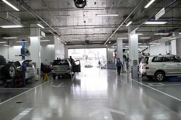 Toyota Hùng Vương - Chi nhánh Tân Tạo 3