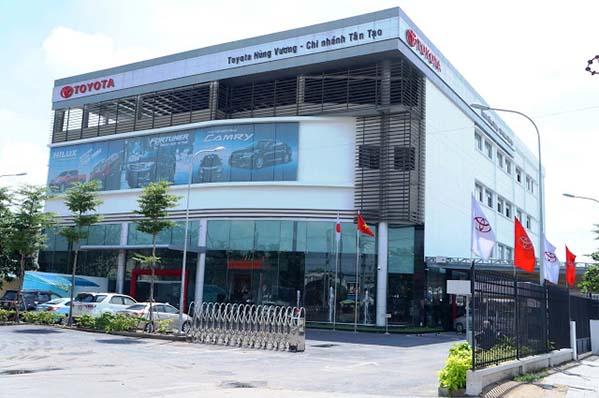 Toyota Hùng Vương - Chi nhánh Tân Tạo