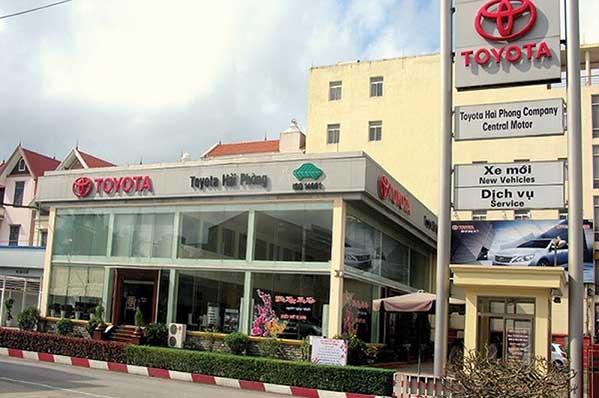 Toyota Hải Phòng 1