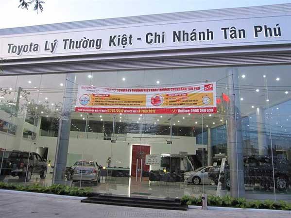 Toyota Lý Thường Kiệt - Chi nhánh Tân Phú 1