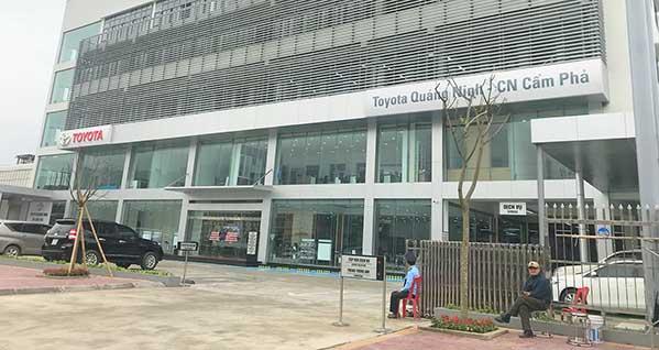 Toyota Quảng Ninh - Chi nhánh Cẩm Phả 1