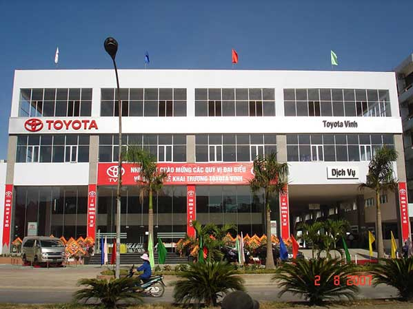 Đại lý xe Toyota Huế - Showroom ô tô 3s chính hãng tại TP Huế