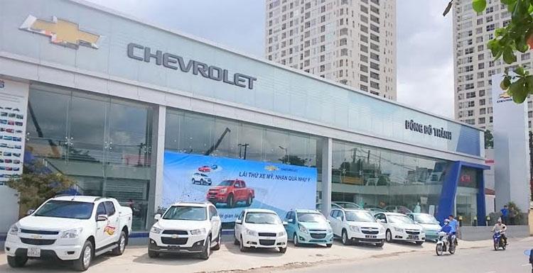 Chevrolet Đông Đô Thành đại lý xe ô tô chính hãng tại Quận 2, TPHCM