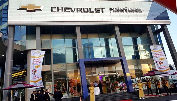Chevrolet Phú Mỹ Hưng đại lý Chevrolet chính hãng tại Quận 7, TPHCM