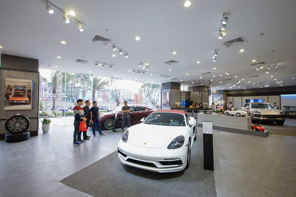Trung Tâm Porsche Hà Nội 2