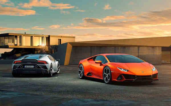 cận cảnh xe Lamborghini Huracan EVO 2020