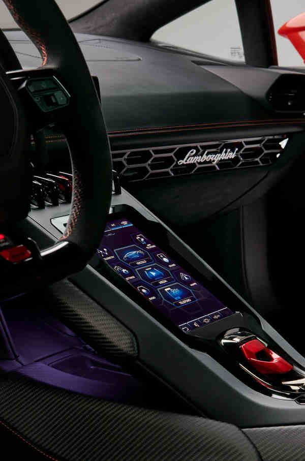 thông tin xe Lamborghini Huracan EVO 2020