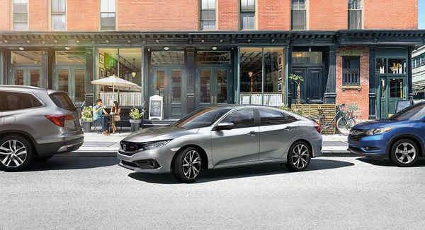 khám phá xe Honda Civic 2019