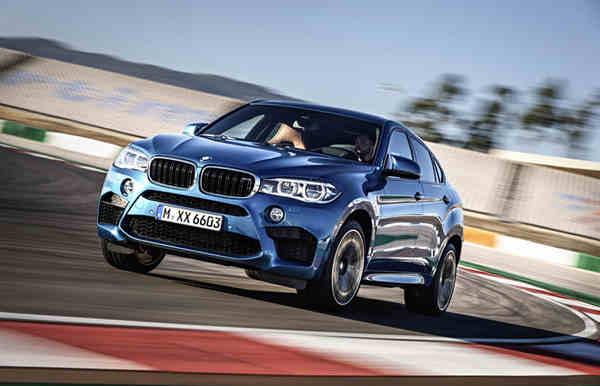 khám phá xe BMW X6 M