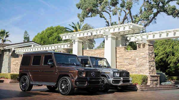 Mercedes-Benz G 400d màu nâu