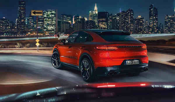 Porsche Cayenne Coupe 2020 có gì mới