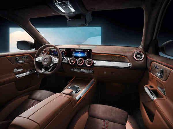 khám phá xe Mercedes-Benz Concept GLB