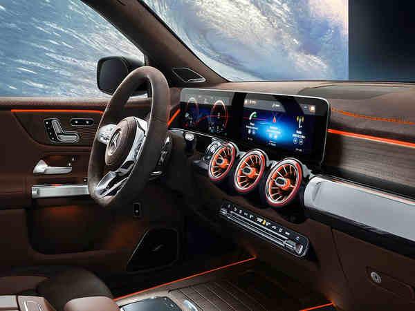 nội thất xe Mercedes-Benz Concept GLB
