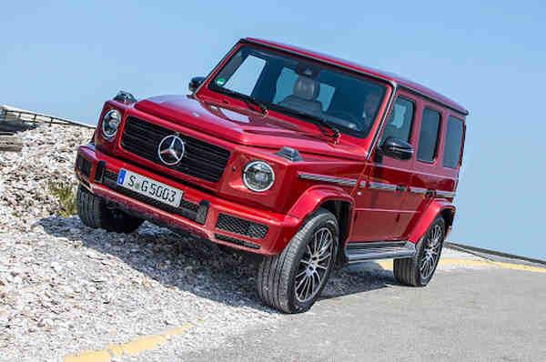 Mercedes-Benz G 400d đầy uy lực