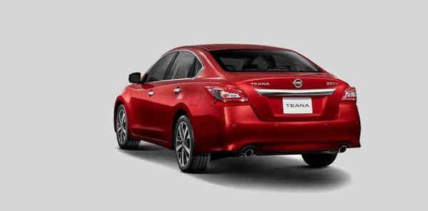 Nissan Teana facelift 2019 đầy uy lực