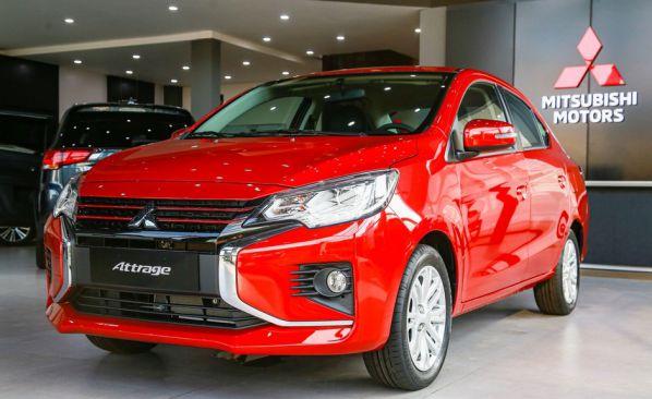 Hình ảnh xe Mitsubishi Attrage