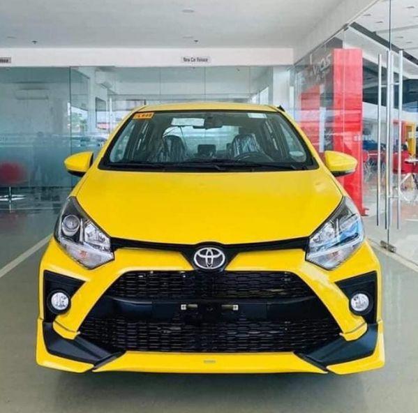 Hình ảnh xe Toyota Wigo