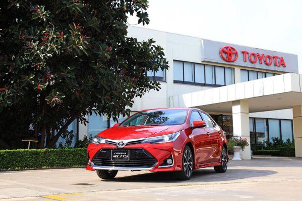 Hình ảnh xe Toyota Altis