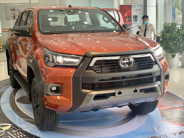 Hình ảnh xe Toyota Hilux